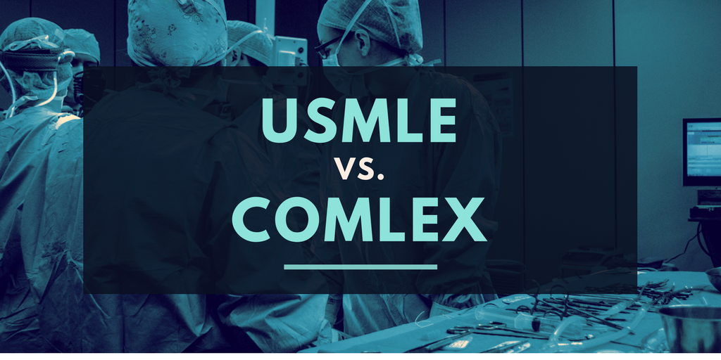 What is the difference between the USMLE vs Comlex
