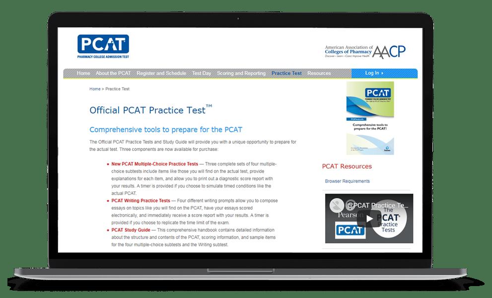 PCAT Study Guide | Free PCAT Practice Test