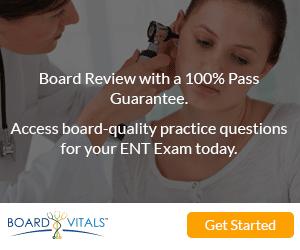 BoardVitals Online Otolaryngology (ENT) CME Self Assessment and MOC Preparation Program
