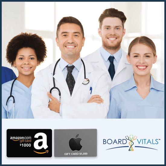BoardVitals Internal Medicine CME Bundle with Free $2,000 Amazon or Apple Gift Card