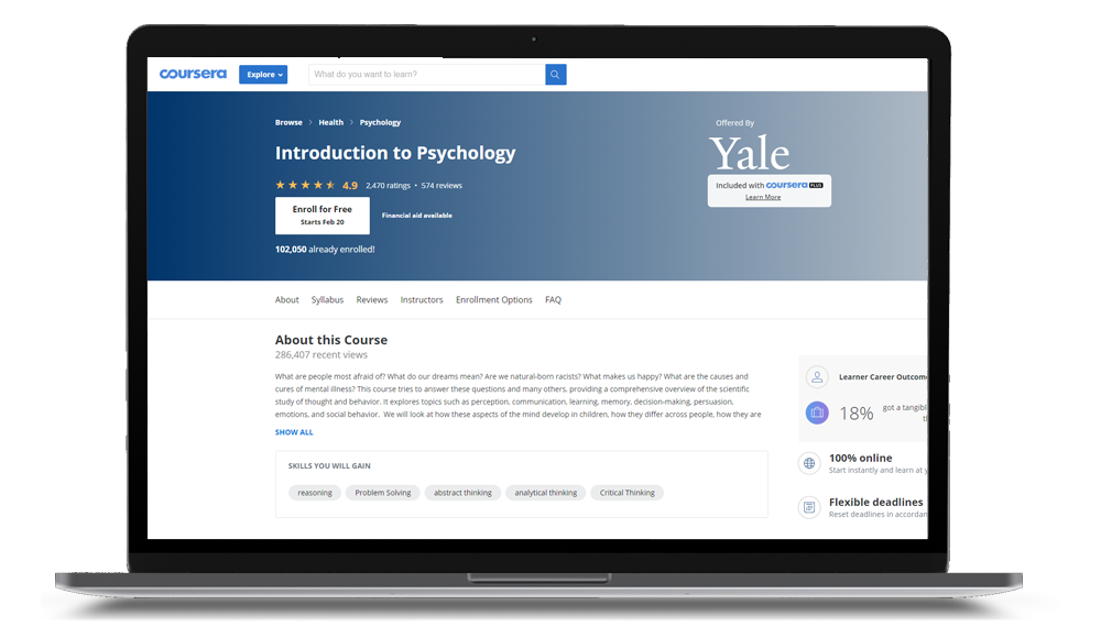 Introduction To Psychology Prep Course Online