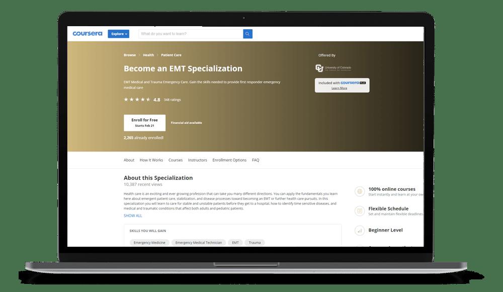 EMT Certification Online