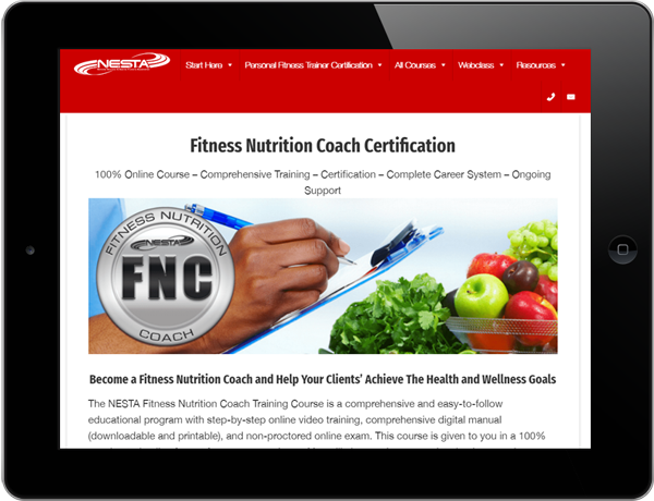 NESTA Fitness Sports Nutrition Coach review