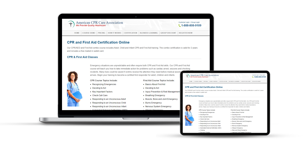 American CPR Certification Course Online