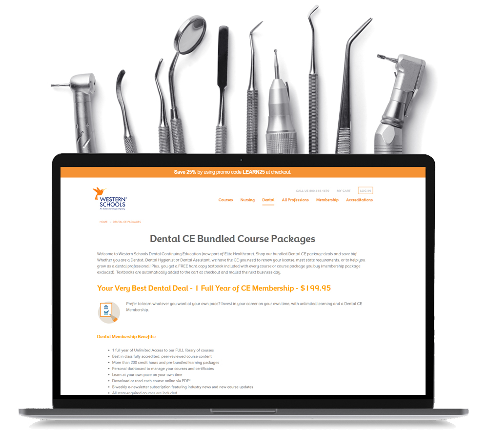 Best dental continuing education courses onlne